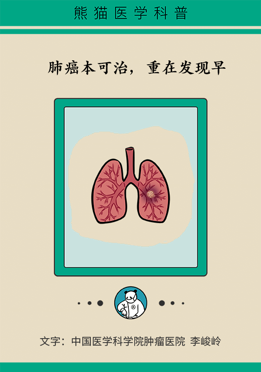 肺癌本可治,重在发现早 心态也要好